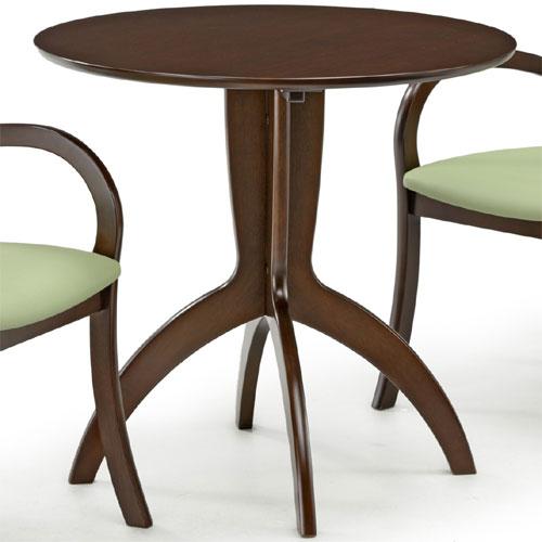 丸テーブル レスト 幅75cm ダークブラウン rest752-do