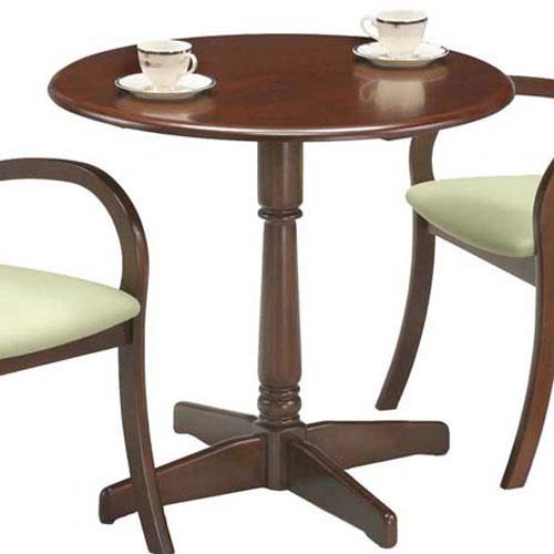 丸テーブル レスト 幅75cm ダークブラウン rest755-do