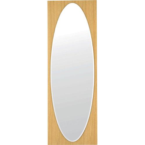 ウォールミラー(鏡) 幅43cm ナチュラル c-hcl-125na