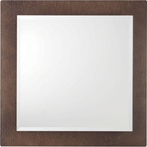 ウォールミラー(鏡) 幅45cm 四角 ウェンジ c-hcl-600we