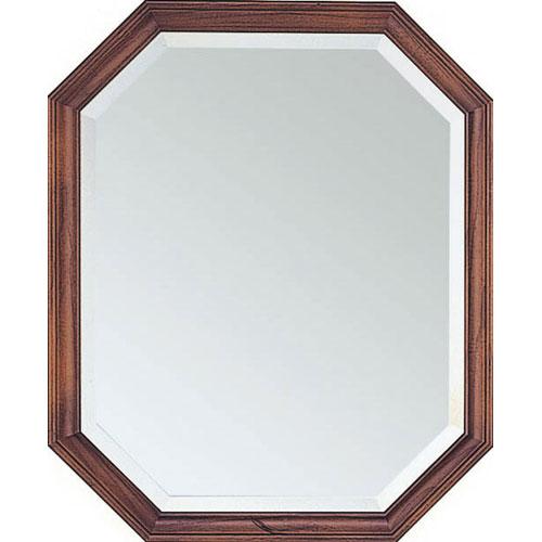 ウォールミラー(鏡) 幅45cm オーク h4555-db