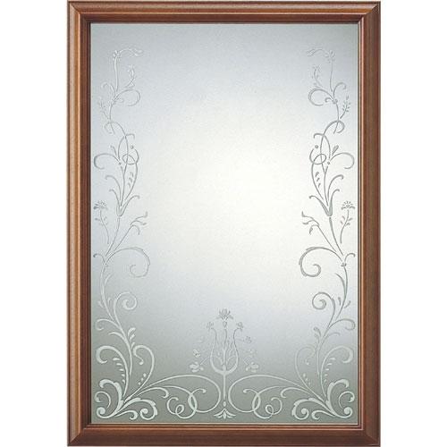 ウォールミラー(鏡) サンドブラスト仕上 san-012-db