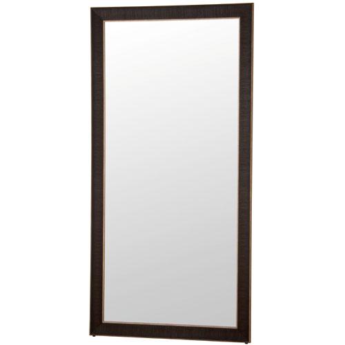 立て掛けミラー(鏡) ロベルト 幅90cm ブラック super-900bk
