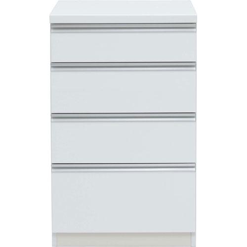 キッチンカウンター アルバ 幅61cm高さ98cm ホワイト ab-060hc-wh
