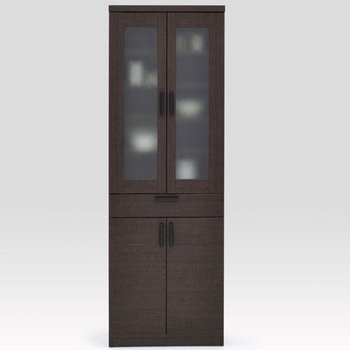 食器棚 ルーナ 幅61cm高さ180cm 食器棚 ルーナ 幅61cm高さ180cm ブラウン ln-60d-br, ハタダ栗タルト:f4d8126d --- officewill.xsrv.jp