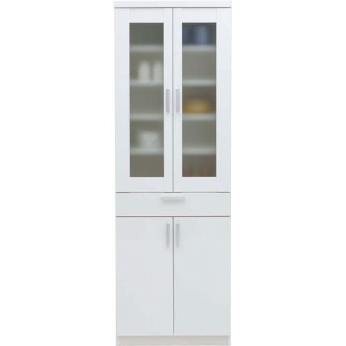 食器棚 ln-60d-wh ルーナ ホワイト ルーナ 幅61cm高さ180cm ホワイト ln-60d-wh, フカウラマチ:070e3321 --- officewill.xsrv.jp