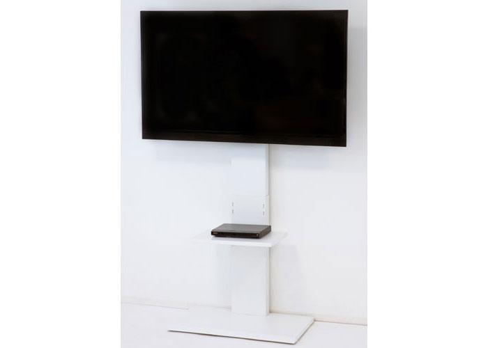 ハイタイプ壁よせテレビスタンド ホワイト 壁寄せ 壁寄せテレビ台 壁寄せテレビスタンドTVスタンド テレビ置き テレビ掛け テレビラック スリム 省スペース