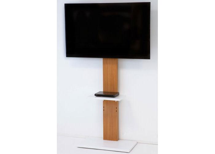 ハイタイプ壁よせテレビスタンド ナチュラル 壁寄せ 壁寄せテレビ台 壁寄せテレビスタンド TVスタンド テレビ置き テレビ掛け テレビラック スリム 省スペース