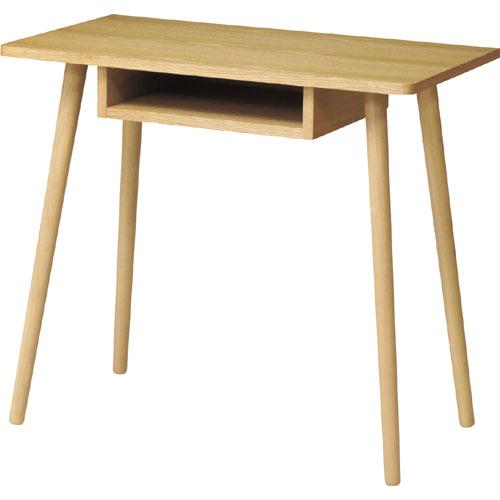 木製デスク カルム 幅80cm calme-d