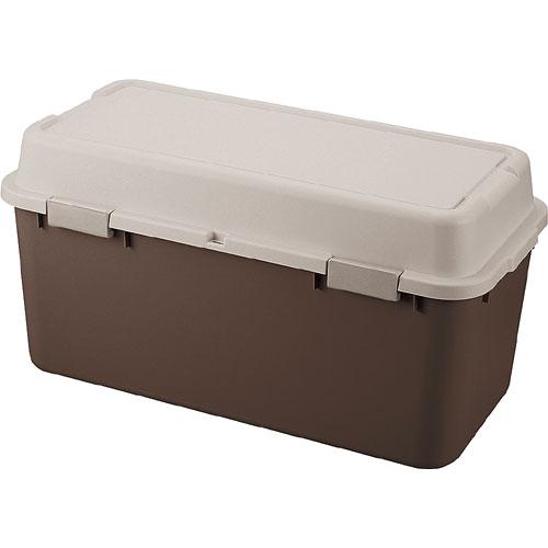 収納ボックス(コンテナ) ルームパック 幅88cm ブラウン【6個組】 room880br