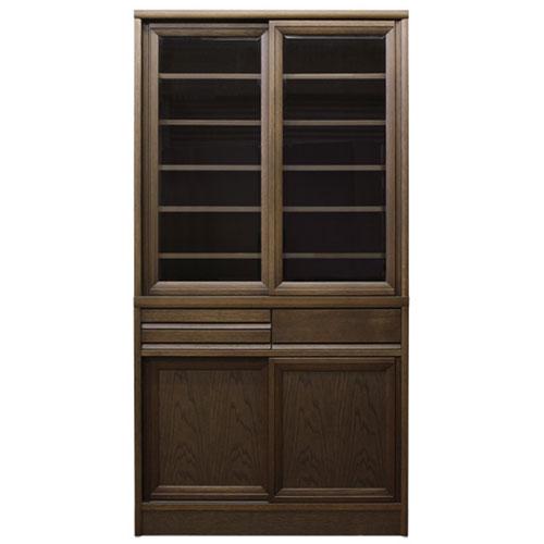 送料無料 食器棚 エッセン エッセン 幅90cm高さ175cm 食器棚 幅90cm高さ175cm DO(ダーク) 514864, グラスマーケット:fdb95632 --- officewill.xsrv.jp
