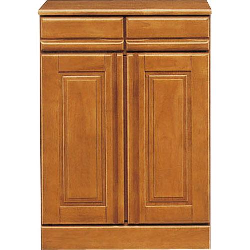 キッチンカウンター ジェロ 幅60cm高さ81cm ライトブラウン