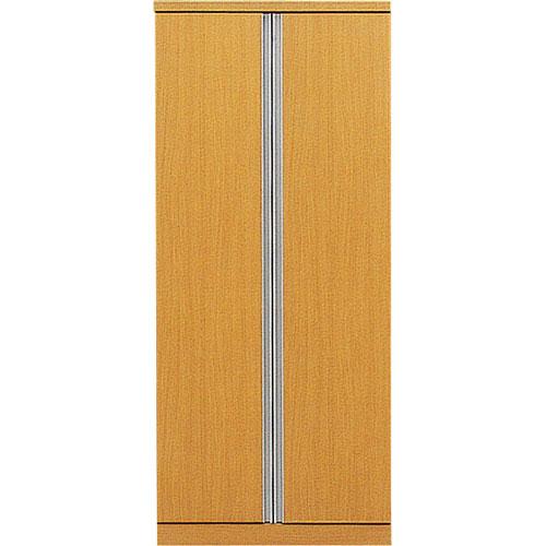 クローゼット デュオ 幅80cm高さ183cm ナチュラル