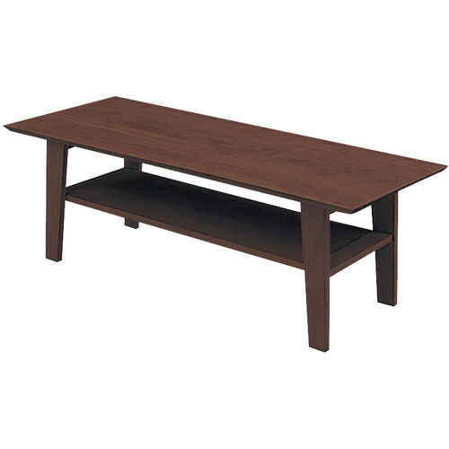 リビングテーブル ティアラ 幅120cm高さ40cm ダークブラウン
