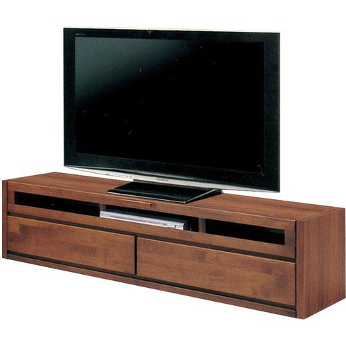 テレビ台 スカーレット 幅150cm高さ40cm ダークブラウン