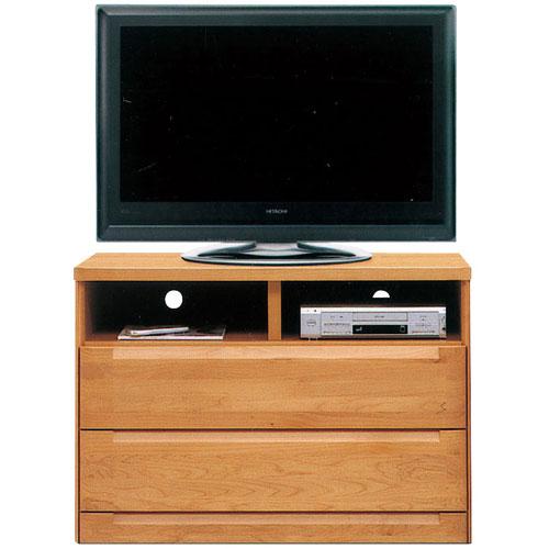 ハイタイプテレビ台 スカーレット 幅106cm高さ75cm ナチュラル