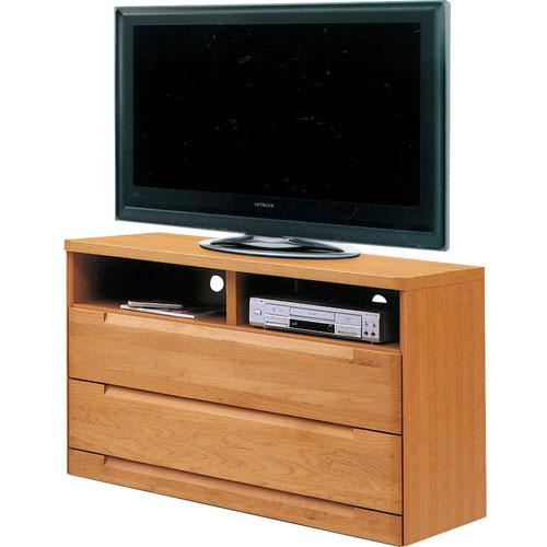 ハイタイプテレビ台 スカーレット 幅121cm高さ75cm ナチュラル