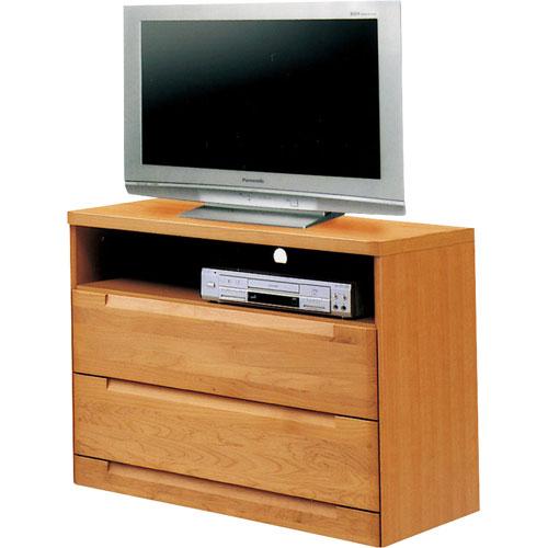 ハイタイプテレビ台 スカーレット 幅80cm高さ75cm ナチュラル