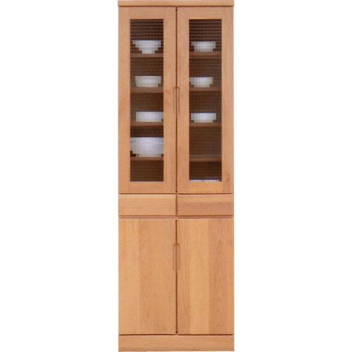 食器棚 バイオレット 幅60cm高さ180cm ナチュラル