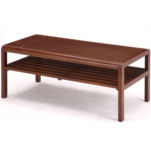 木製リビングテーブル ココア 幅90cm ブラウン