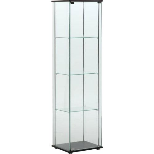 ガラスコレクションケース 4段 96047
