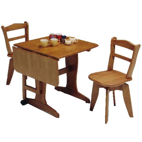 ダイニングセット 3点 ダイニングテーブル 伸縮 回転チェア スイフト 伸長テーブル+回転チェア2脚 ダイニングテーブルセット 食卓セット リビングセット 木製テーブル 食卓テーブル 伸縮テーブル ダイニングチェア 回転 イス チェア 食卓椅子 モダン r-sk1-002-01