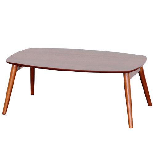 折りたたみテーブル センターテーブル 折りたたみ木製リビングテーブル セレノ 幅90cm ウォールナット ローテーブル テーブル 折りたたみ 折りたたみ式テーブル vt4090dbr