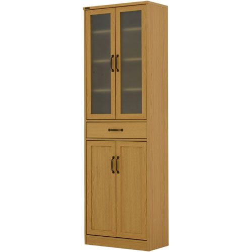 食器棚 アルディ 幅58cm高さ182cm ナチュラル