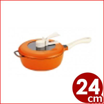 レミパン 24cm オレンジ IH対応 《メーカー取寄》/ご存知!平野レミプロデュースの多機能フライパン 万能フライパン