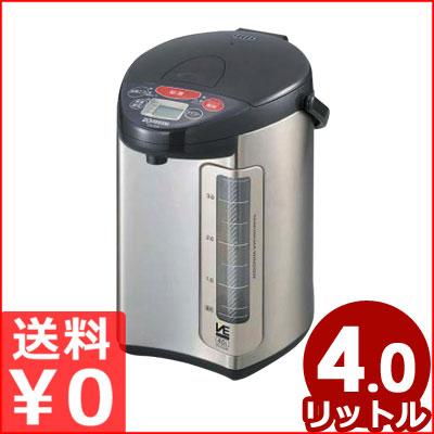 象印 VE電気まほうびん「優湯生」 マイコン沸騰電気ポット 4.0L CV-DG40(XJ) 《メーカー取寄》/魔法瓶 湯沸かしポット 保温 温かい