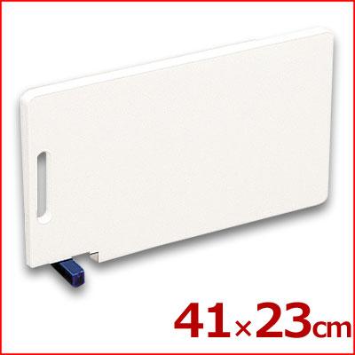 住友 スーパー耐熱まな板 青 カラースタンド付き 41×23cm WKLOS 熱湯消毒可 業務用まな板