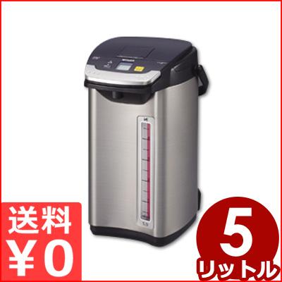 タイガー 蒸気レス電気魔法びん「とく子さん」 5L PIE-A500/湯沸かし付き電気ポット 二重構造