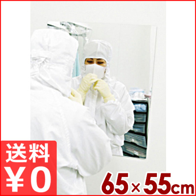 アクリルミラープラス 上半身用 650×550mm KMF-6555 割れにくい鏡 メーカー取寄品