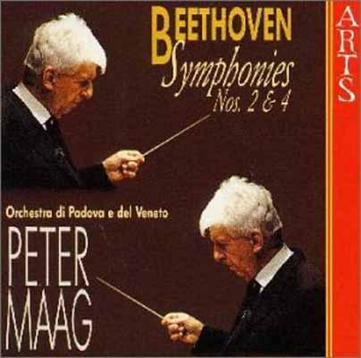 USED【送料無料】ベートーヴェン:交響曲第2番 [Audio CD] パドバ・ベネト管弦楽団; ベートーヴェン and マーク(ペーター)