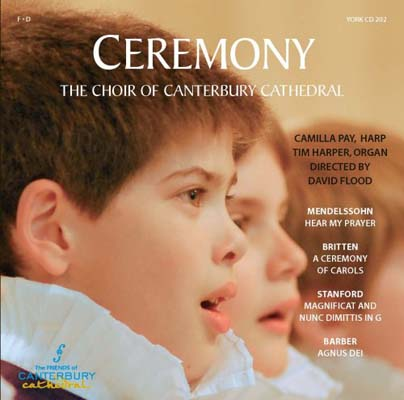 USED【送料無料】Ceremony [Audio CD] Choir of Canterbury Cathedral
