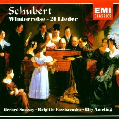 送料無料 中古 セール特価 Schubert: Winterreise 21 Liede Audio Souzay; and Ameling 情熱セール Fassbaender Schubert; CD