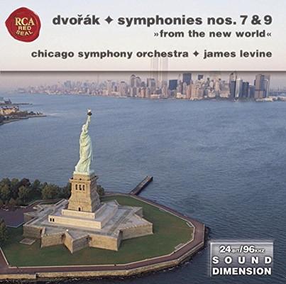送料無料 中古 Sym 7 9: Sound Dimension Audio CD Chicago 高級な Symphony 人気 おすすめ Orchestra; Dvor?k Anton?n and Levine James