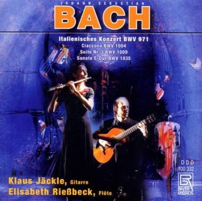 送料無料 中古 Ital.Konzert BWV 971 定番の人気シリーズPOINT(ポイント)入荷 Ciaccona 1004 Suite Nr. BMV E-Dur Audio CD 1035 新生活 1009 Sonate 3