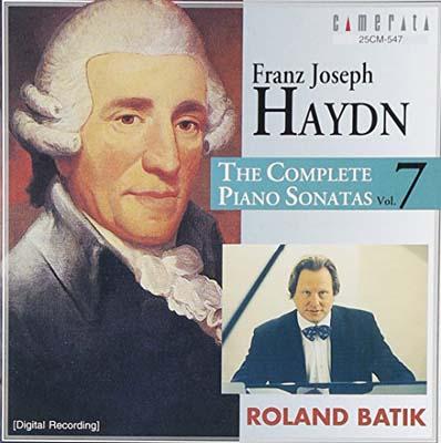 USED 送料無料 即出荷 ハイドン 豪華な ピアノ ソナタ全集 VII バティック ローランド and CD Audio