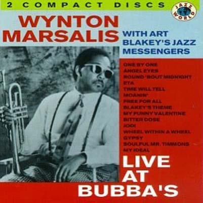 USED【送料無料】Live at Bubba's [Audio CD] Marsalis, Wynton