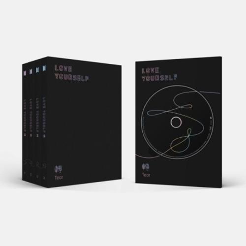 BTS LOVE YOURSELF 轉 Tear アルバム CD 防弾少年団 バージョンランダム 輸入盤 バンタン SIN 選択不可 大好評です 送料0円