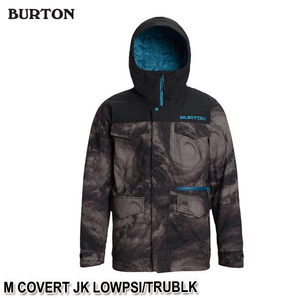 特典付 19-20 バートン メンズ コバート ジャケット BURTON M COVERT JK LOWPSI/TRUBLK スノーウェア スノボ ジャケット 2020 日本正規品 予約