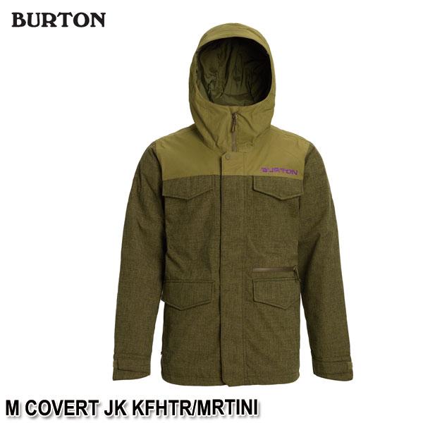 特典付 19-20 バートン BURTON M COVERT JK KFHTR/MRTINI スノーウェア ジャケット メンズ 男性用 2020 日本正規品 予約