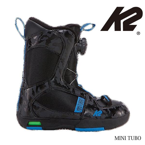 K2 ケーツ ジュニア スノーボード ブーツ MINI TURBO 14.5-15.5cm BOA ボア ダイヤル式 ブーツ 送料無料
