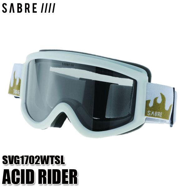セイバー スノー ゴーグル アシッドライダー SABRE SVG1702WTSL ACID RIDER スキー スノーボード 大人用 ユニセックス 正規品