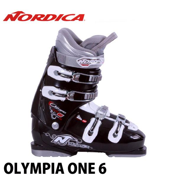 ノルディカ オリンピアワン6 NORDICA OLYMPIA ONE 6 大人用 レディース 初心者 エントリー スキーブーツ 女性用 日本正規品