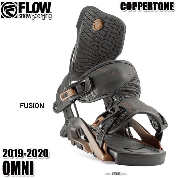 予約商品 19-20 フロー オムニ Fusion ビンディング FLOW OMNI COPPERTONE 女性用 レディース スノボ スノーボード 2020