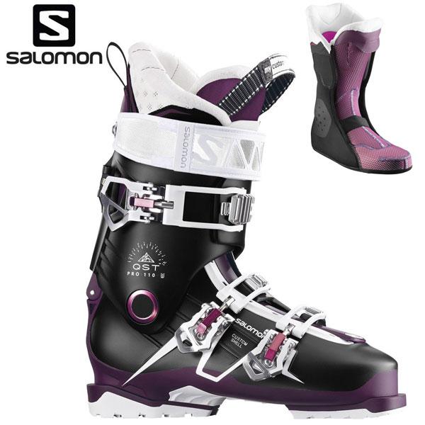 17-18 サロモン スキーブーツ キューエスティー W SALOMON QST PRO 110 W オールマウンテン レディース 女性用 国内正規品