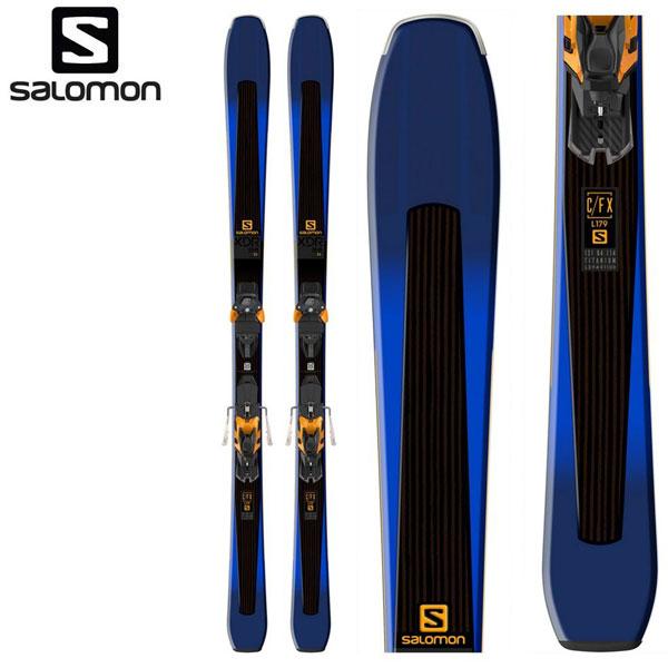 18-19 サロモン スキー板 SALOMON XDR 84 Ti + WARDEN MNC 13 172/165 オールマウンテン スキーセット 大人用 ビンディング付 2点セット 送料無料