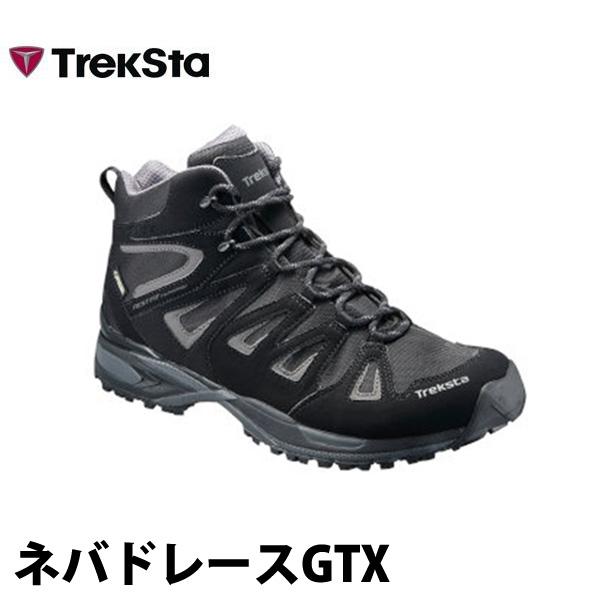 トレクスタ メンズ トレッキングシューズ ゴアテックス搭載 TrekSta ネバドレースGTX EBK159 登山靴 登山シューズ